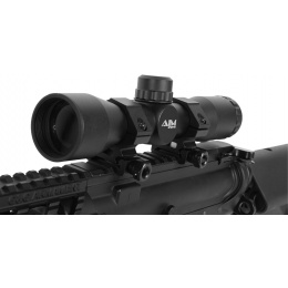 AIM Sports 4x32 Compact Rangefinder Airsoft Tactical Combat Scope