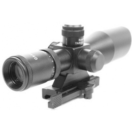 AIM Sports 2.5-10x40 Rangefinder Red / Green Illuminated Airsoft Scope