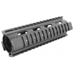 AIM Sports M4A1 Carbine Length Drop-In Full Metal Quad Rail 6.5in
