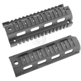 AIM Sports M4A1 Carbine Length Drop-In Full Metal Quad Rail 6.5in