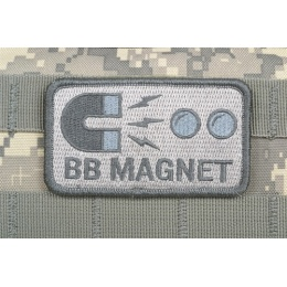 AMS Airsoft BB Magnet Patch - Gray/ ACU - Premium Hi-Fidelity Series