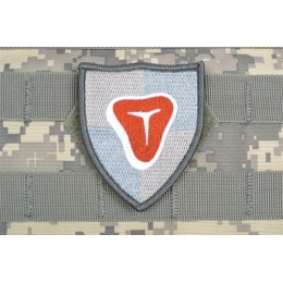 AMS Airsoft Premium Meat Shield Patch - GRAY/ ACU