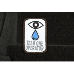 AMS Airsoft Premium Tear One Operator Patch - Full Color