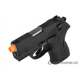 WE Tech Bulldog Gas Blowback Airsoft Pistol - BLACK