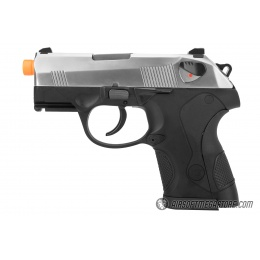 WE Tech Bulldog Gas Blowback Airsoft Pistol - SILVER