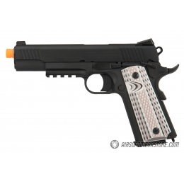 WE Tech Full Metal 1911 M45A1 Gas Blowback Airsoft Pistol - BLACK