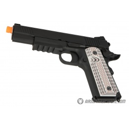 WE Tech Full Metal 1911 M45A1 Gas Blowback Airsoft Pistol - BLACK