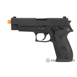 WE Tech F226 Gas Blowback Airsoft Pistol - BLACK