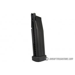 WE Tech Hi-Capa 5.1 M1911 R Version Gas Blowback Airsoft Pistol - BLACK