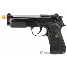 WE Tech 904 M9 Gas Blowback GBB Airsoft Pistol - BLACK
