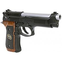 WE Tech RPD Biohazard Samurai Edge M92 GBB Airsoft Pistol - BLACK