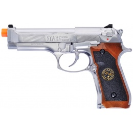 WE Tech RPD Biohazard Samurai Edge M92 GBB Pistol (Semi-Auto) - SILVER