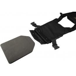 Flyye Industries 1000D Cordura MOLLE PC Plate Carrier (MED) - BLACK