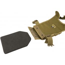 Flyye Industries 1000D Cordura MOLLE PC Plate Carrier (MED) - KHAKI