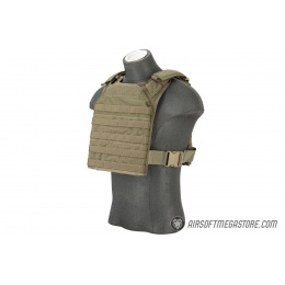 Flyye Industries 1000D Cordura MOLLE PC Tactical Vest (MED) (Ranger Green)