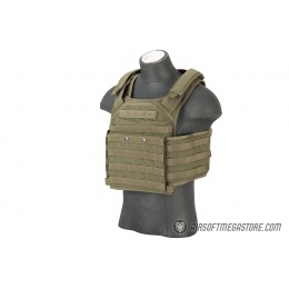 Flyye Industries MOLLE FAPC Gen2 Tactical Vest w/ MOLLE Cummerbund - RANGER GREEN