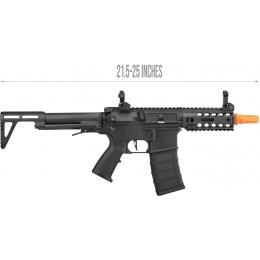 Classic Army AR4 SBR Light AEG CQB Airsoft Rifle - BLACK