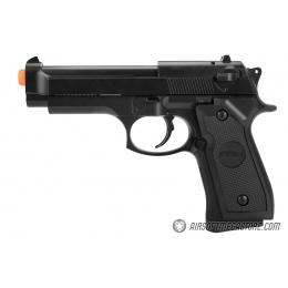 CYMA Full Metal Heavyweight M9 Spring Airsoft Pistol - BLACK