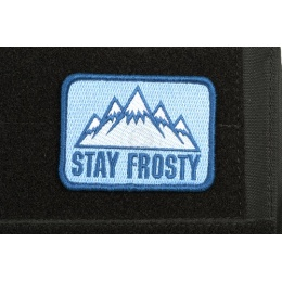 AMS Airsoft Stay Frosty Patch - Full Color - Hi-Fidelity Patch Series