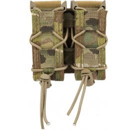 High Speed Gear Polymer Double Pistol TACO® Magazine Pouch - MULTICAM