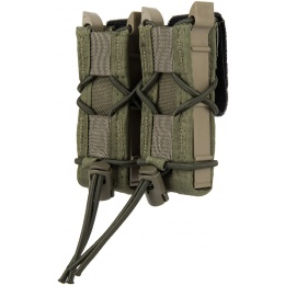High Speed Gear Polymer Double Pistol TACO® Magazine Pouch - OD GREEN