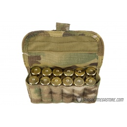 High Speed Gear Shotgun Shell Pouch w/ Belt Attachment - MULTICAM