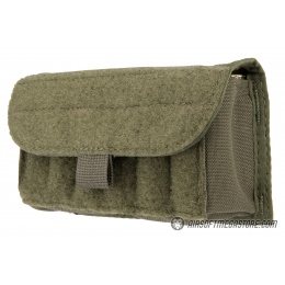 High Speed Gear Shotgun Shell Pouch w/ Belt Attachment - OLIVE DRAB