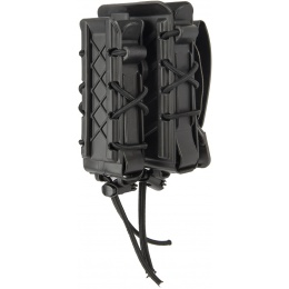 High Speed Gear Rifle / Pistol Double Decker Taco® Magazine Pouch - BLACK