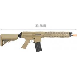 Echo1 Robinson Armament Licensed XCR-L Airsoft AEG Rifle - DESERT TAN