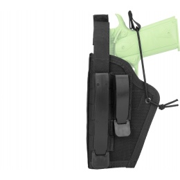 High Speed Gear Ambidextrous Nylon Holster - BLACK