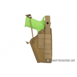 High Speed Gear Ambidextrous Nylon Holster - COYOTE BROWN
