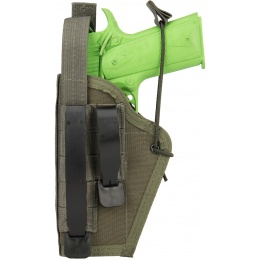 High Speed Gear Ambidextrous Nylon Holster - OLIVE DRAB