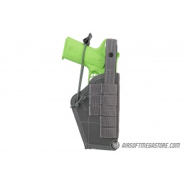 High Speed Gear Ambidextrous Nylon Holster - WOLF GRAY
