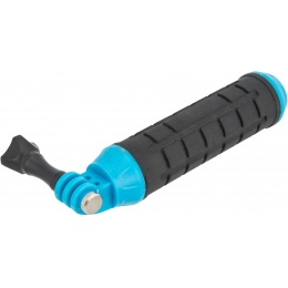 G-Force Compact Hand Grip for GoPro Cameras - BLACK / BLUE