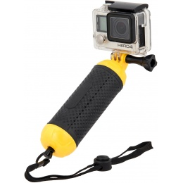 G-Force Bobber Floating Hand Grip for GoPro Cameras - BLACK / YELLOW
