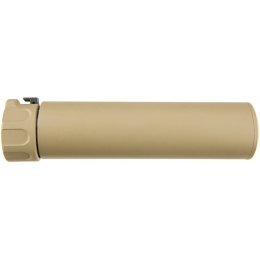 Atlas Custom Works Full Metal SOCOM QD Barrel Extension w/ Flash Hider [LONG] - TAN