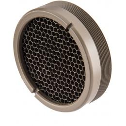 Atlas Custom Works Killflash for EOTech Style 4x Fxd Magnifier - TAN