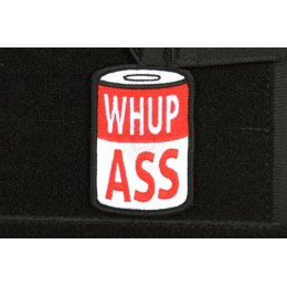 AMS Airsoft Whup Ass Patch - Full Color - Premium Hi-Fidelity Series