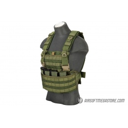 Flyye Industries 1000D Cordura WSH MOLLE Chest Rig - OD GREEN