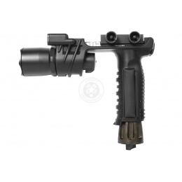 Trilogy Tactical Foregrip LED Flashlight w/ 2 LED Nav Lights