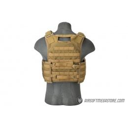 Flyye Industries MOLLE FAPC Gen2 Tactical Vest w/ MOLLE Cummerbund - COYOTE BROWN