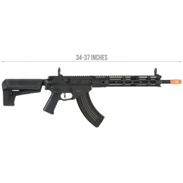 Krytac Full Metal Trident 47 SPR Airsoft AEG Rifle - BLACK