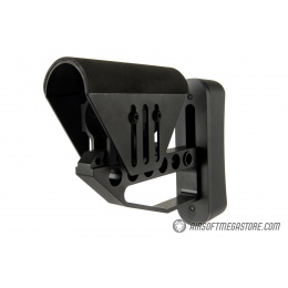 Ranger Armory Lightweight Tactical Stock w/ Cheek Riser - BLACK