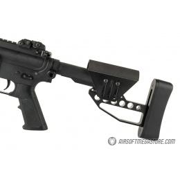 Ranger Armory Lightweight Tactical Stock w/ Cheek Riser - BLACK