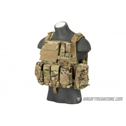 Flyye Industries 1000D Cordura MOLLE Tactical Vest w/ Pouches [MED] (Multicam)