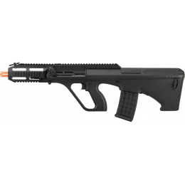 GHK AUG A3 Gas Blowback Airsoft Rifle - BLACK