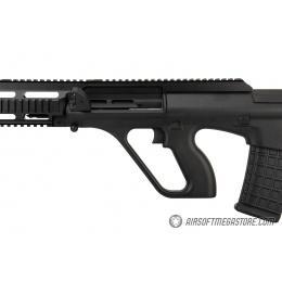 GHK AUG A3 Gas Blowback Airsoft Rifle - BLACK