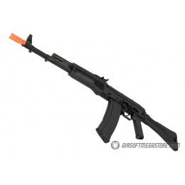 GHK AK74 AKS-74MN Steel Receiver Gas Blowback Airsoft Rifle - BLACK