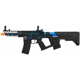 Lancer Tactical Enforcer NEEDLETAIL Skeleton AEG [LOW FPS] - BLACK + NAVY BLUE