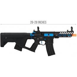 Lancer Tactical Enforcer NEEDLETAIL Skeleton AEG [LOW FPS] - BLACK + NAVY BLUE